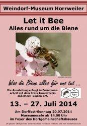 "Sonderausstell. 2014  ""Let it Bee"""