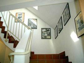 Foto des Treppenhaus